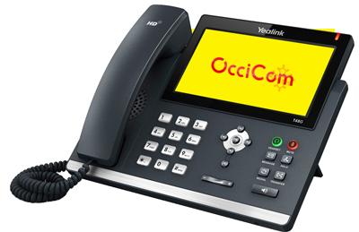 Occicom - Solution de téléphone d'entreprise