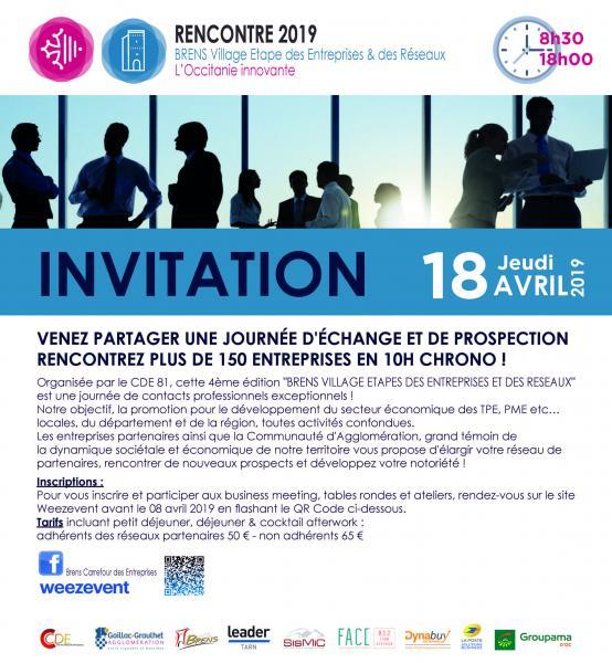 4éme édition de Brens village étape des entreprises et des réseaux en Occitanie