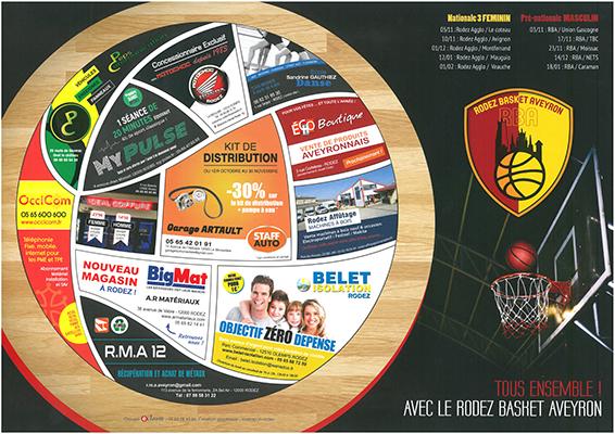 Partenariat Rodez Basket Aveyron