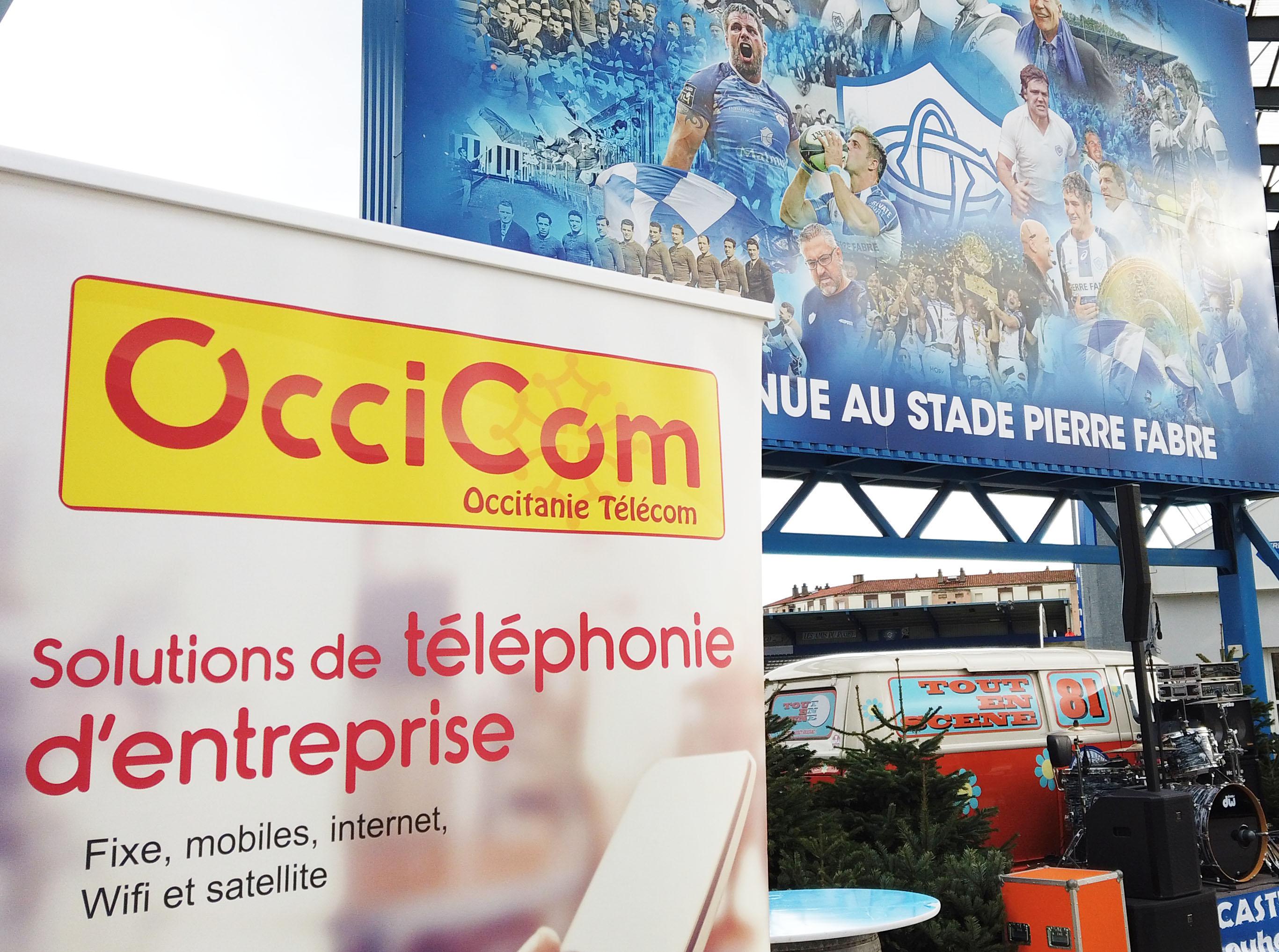 Etre partenaire premium du match du CO vs les LOU : une réussite et une fierté pour Occicom