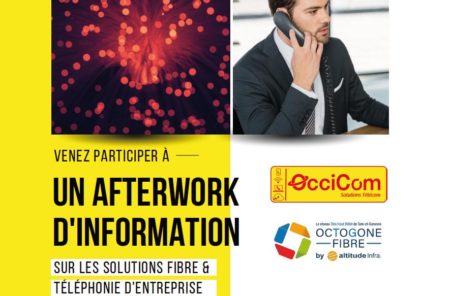 AfterWork OcciCom & Octogone Fibre le mercredi 7 juillet 2021 18h30 à CAUSSADE