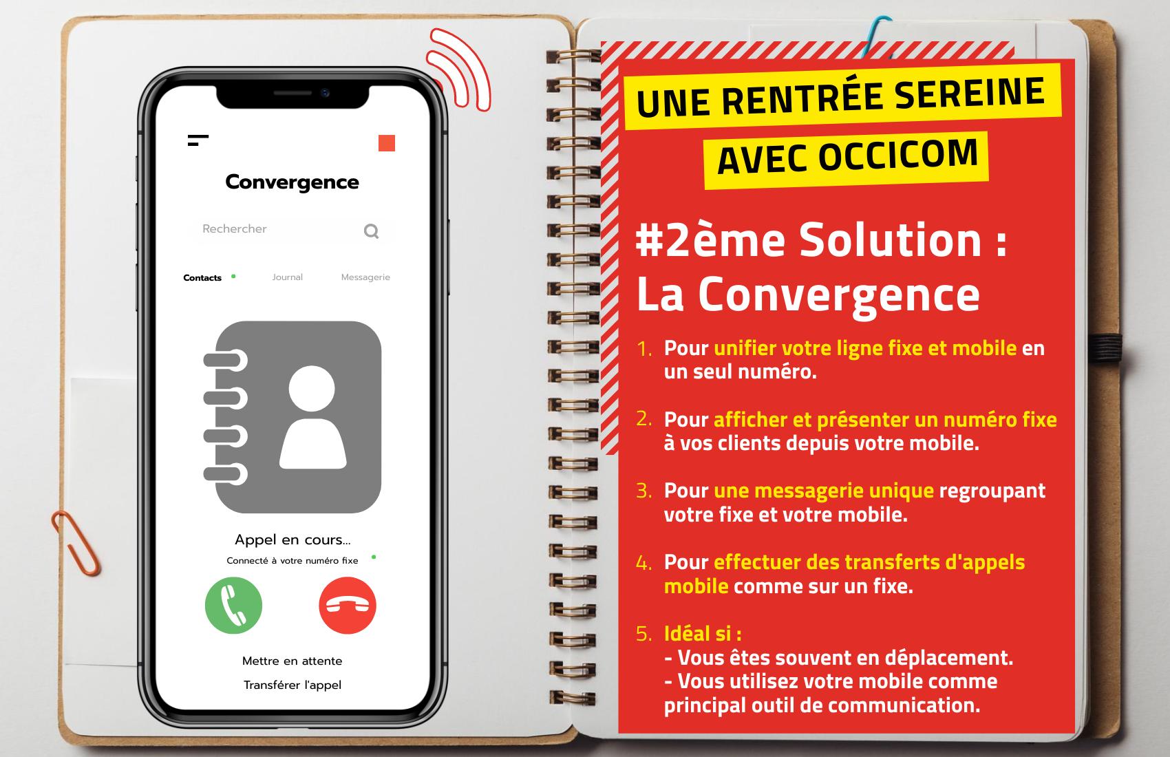 #2 Une rentrée sereine pour vos télécoms : La convergence Fixe/Mobile